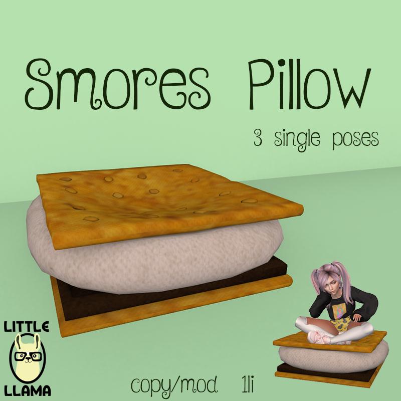 LL Smores Pillow