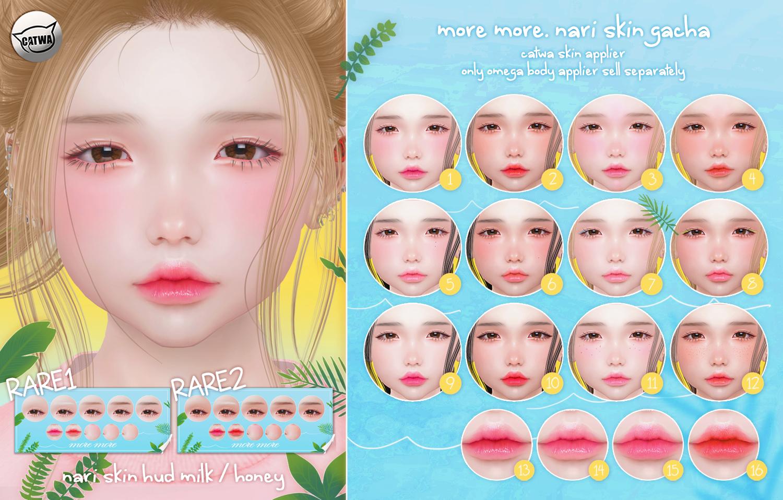 more more. nari skin gacha