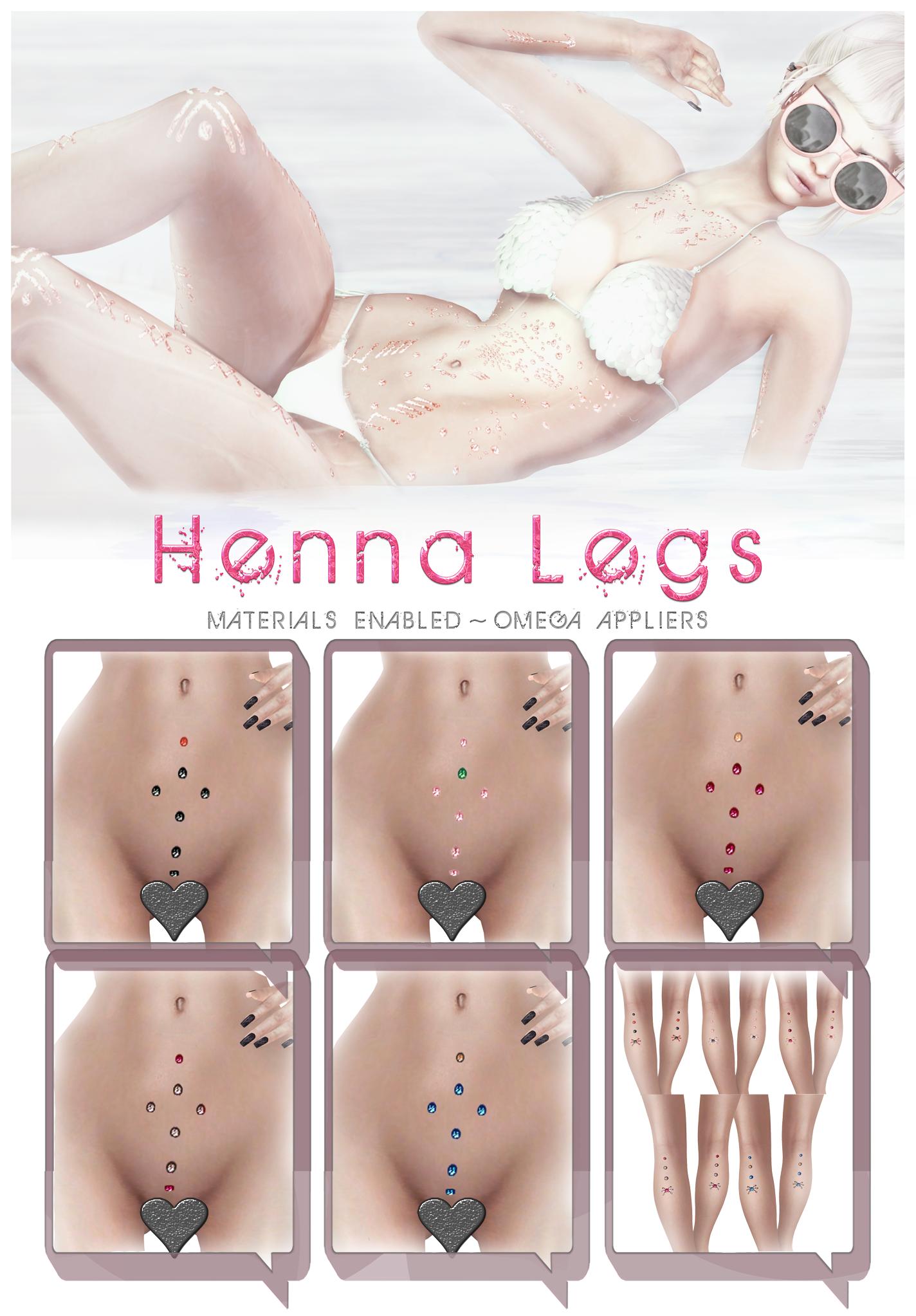 Go&See - Cross Henna