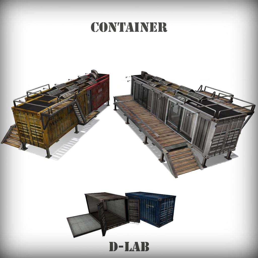 D-Lab - Container