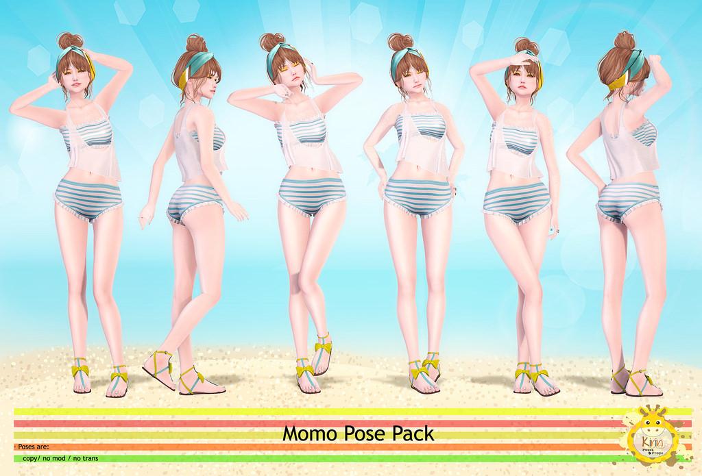 Kirin - Momo Pose Pack