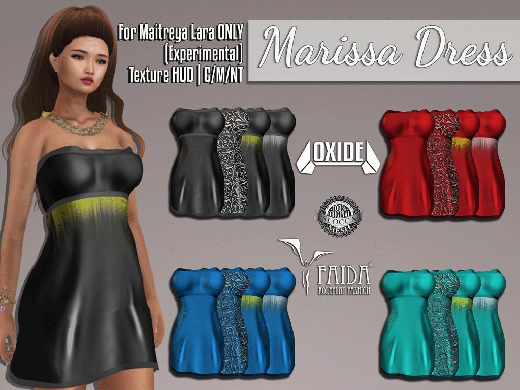 OXIDE x Faida Marissa Dress