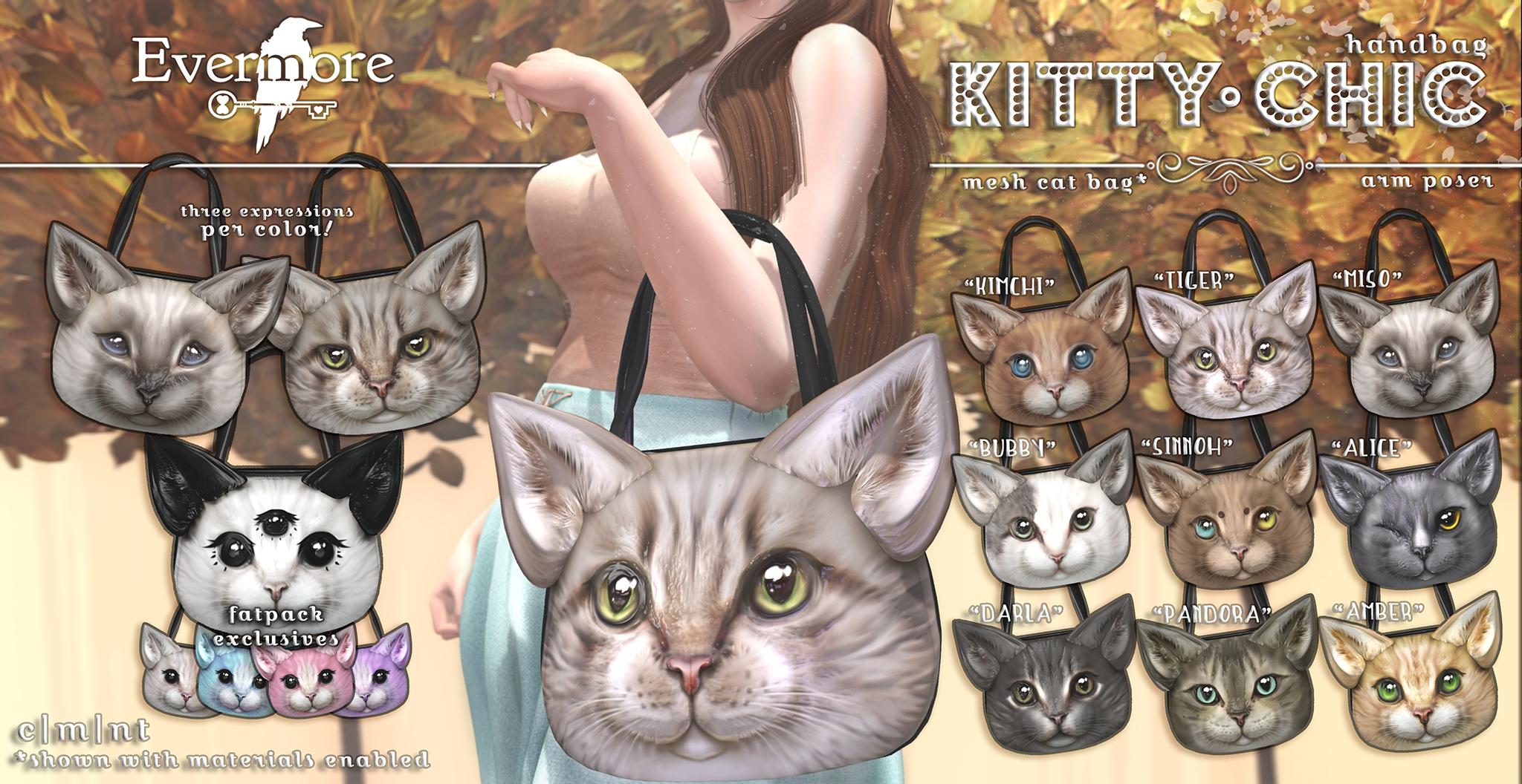 Evermore - Kitty Chic Handbag.png