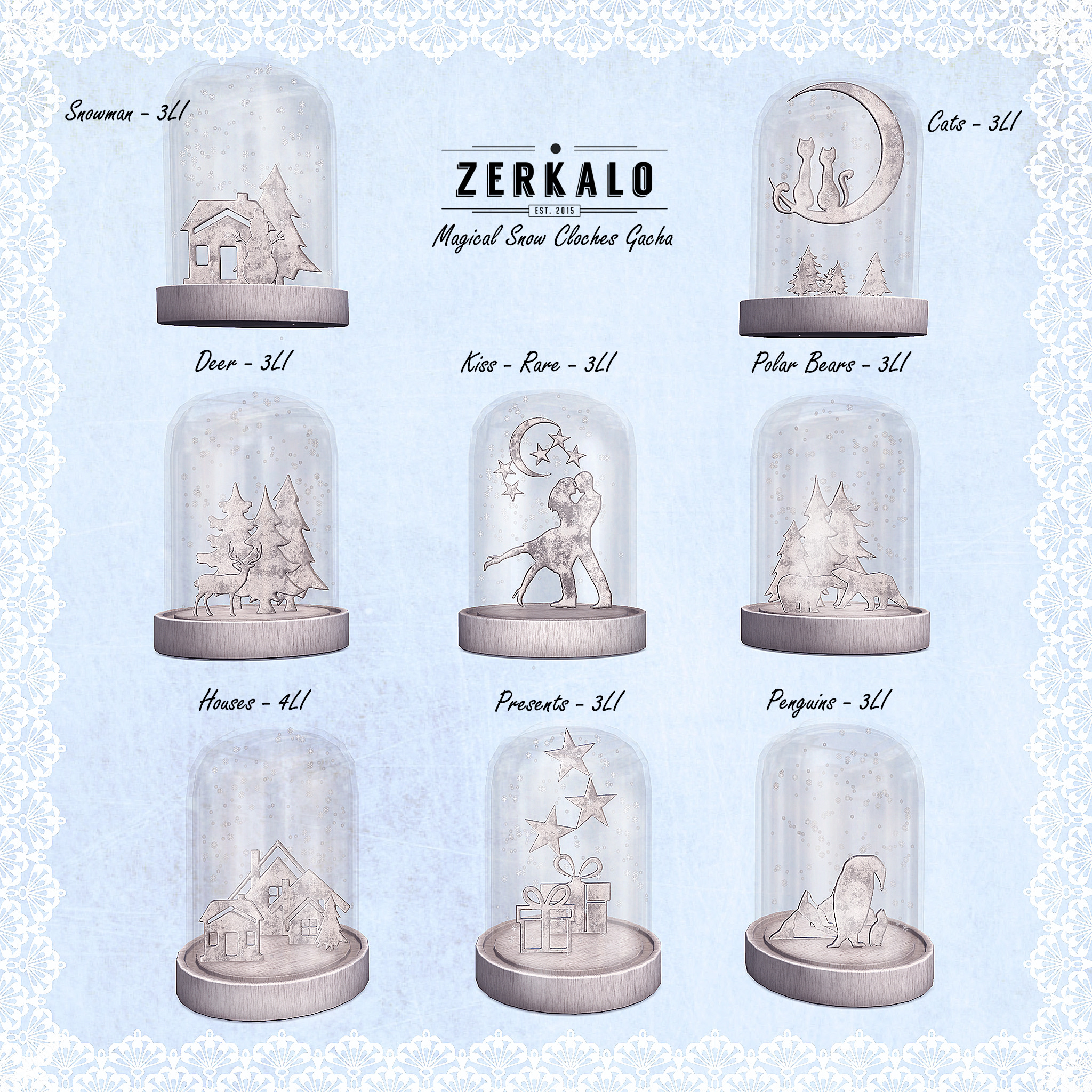 Zerkalo - Magical Snow Cloche - Gacha Key.jpg