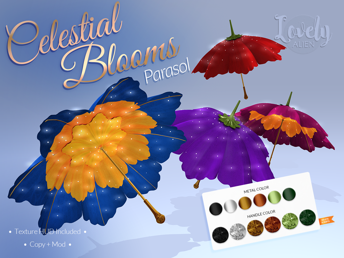 Lovely Alien - Celestial Blooms Parasol.png