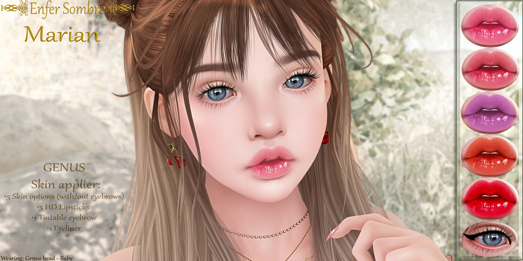 (Enfer Sombre*) Marian skin & shape