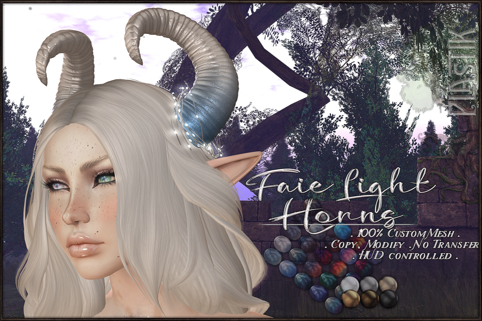 :[P]:- Faie Lighted Horns