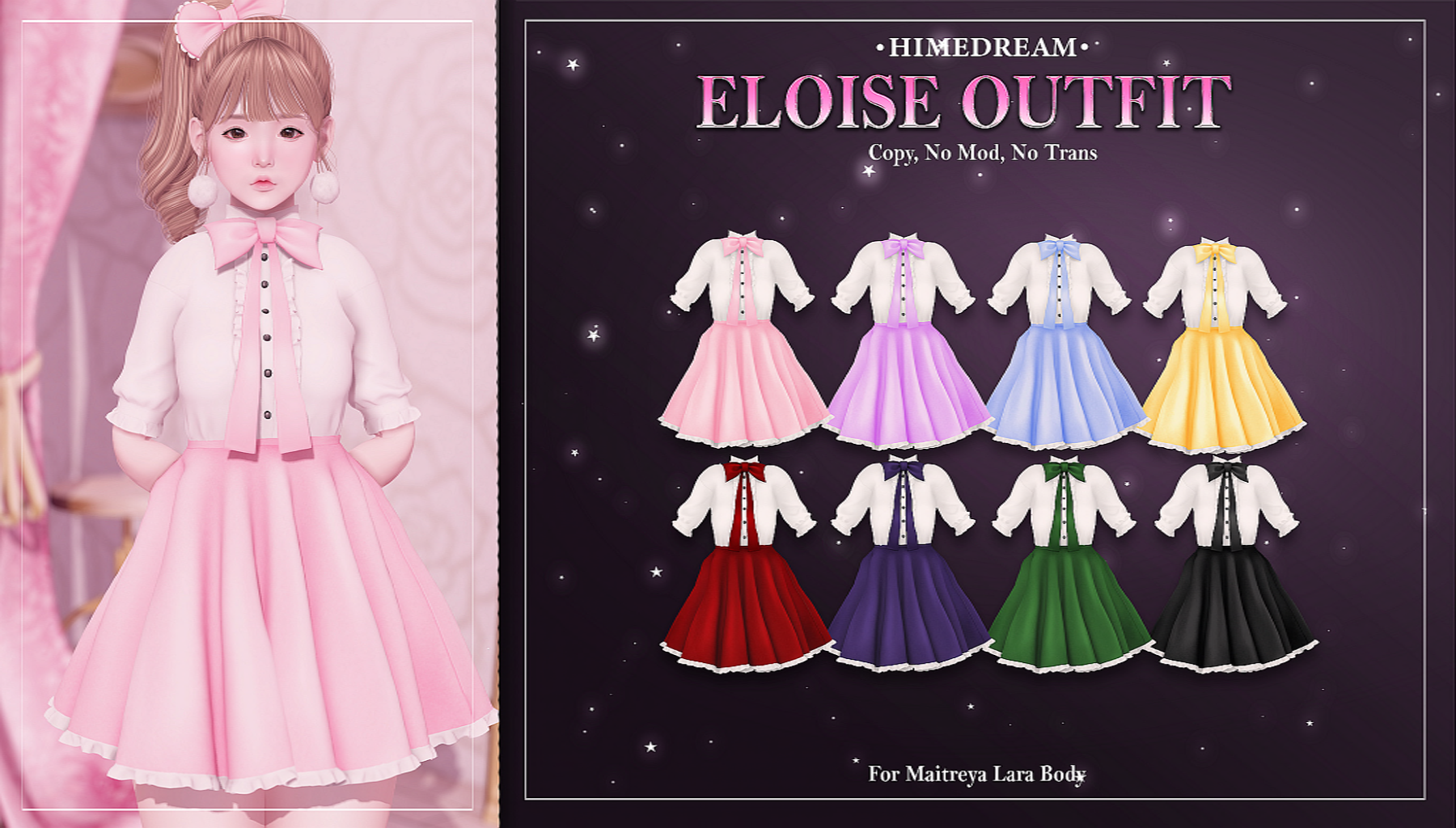 {HIME*DREAM} Eloise Outfit