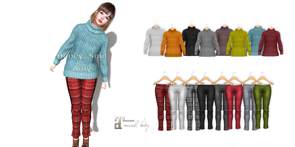 **Honey*Soul**Sweater-Amy / Pants-Amy