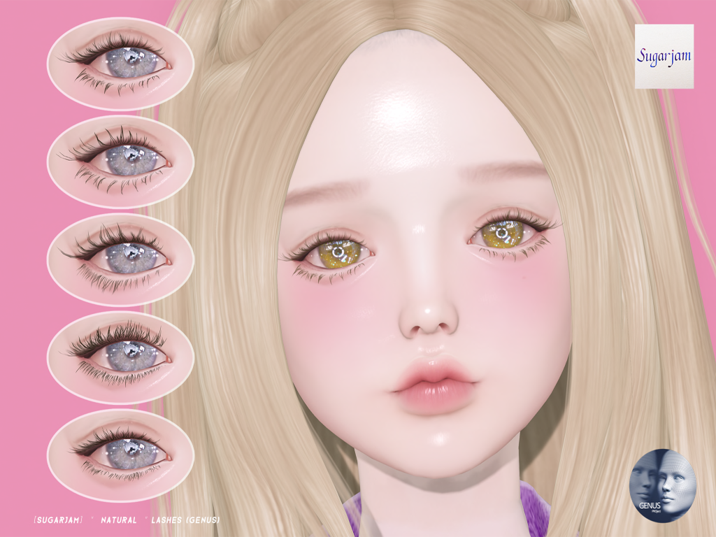 "[SUGARJAM]  ""  Natural  "" Lashes (GENUS)"