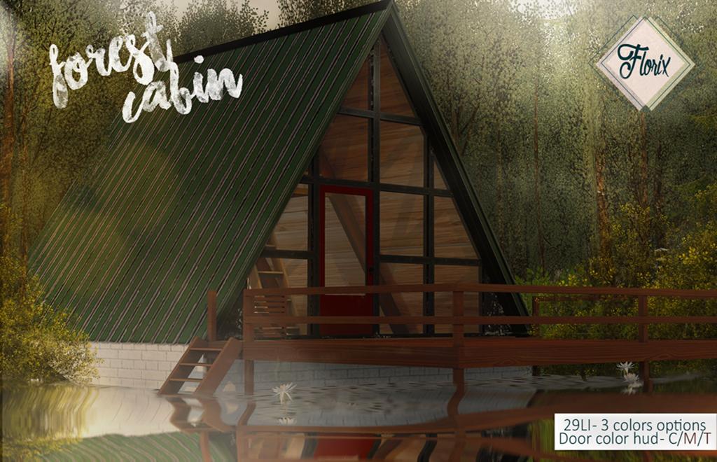.Florix. Forest Cabin