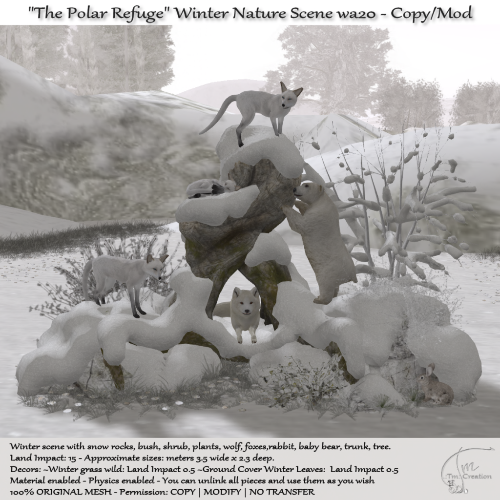 .:Tm:.Creation - Winter The Polar Refuge scene