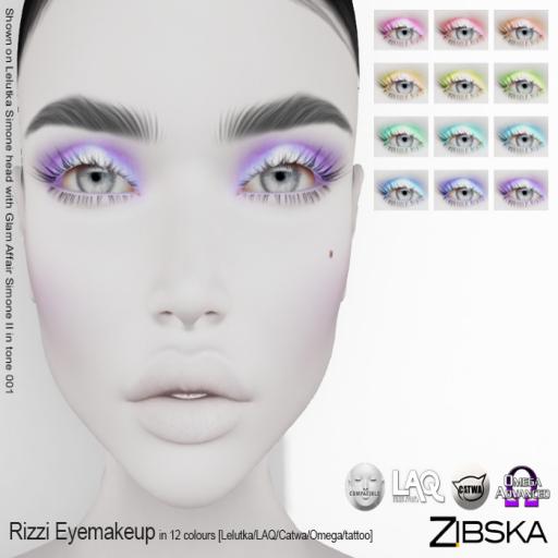 Zibska ~ Rizzi Eyemakeup
