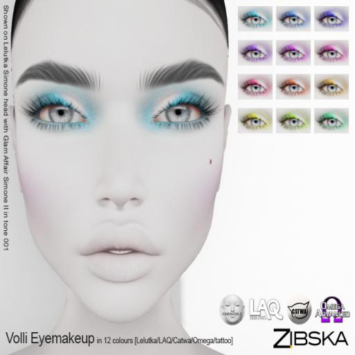Zibska ~ Volli Eyemakeup