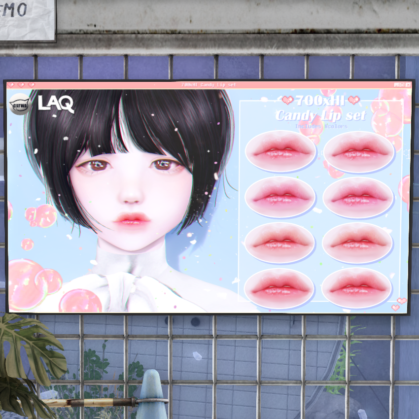 700 x HI_ candy lip (catwa)