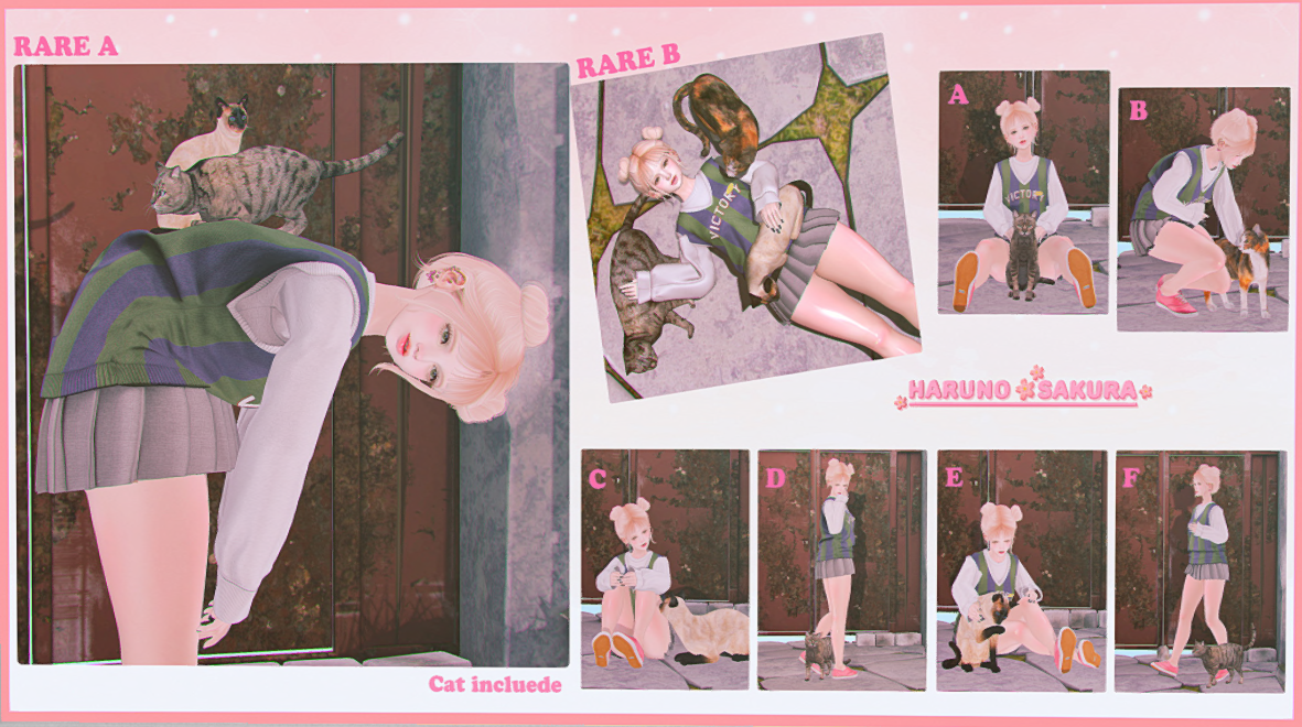 Haruno*Sakura=My Lovely Cat Gacha