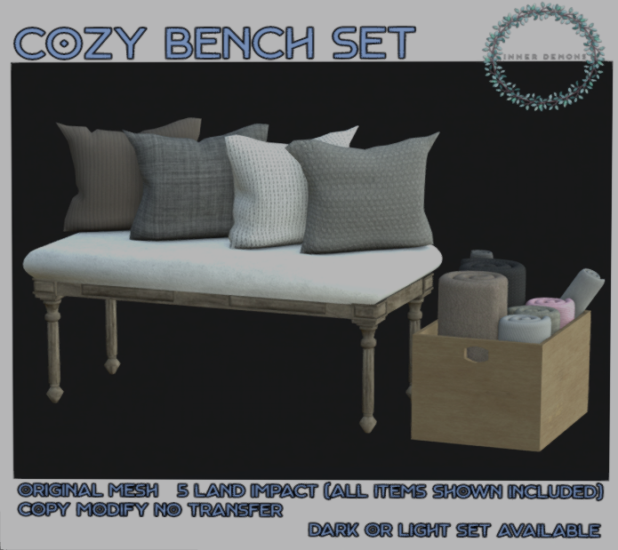 {ID} Cozy Bench Set