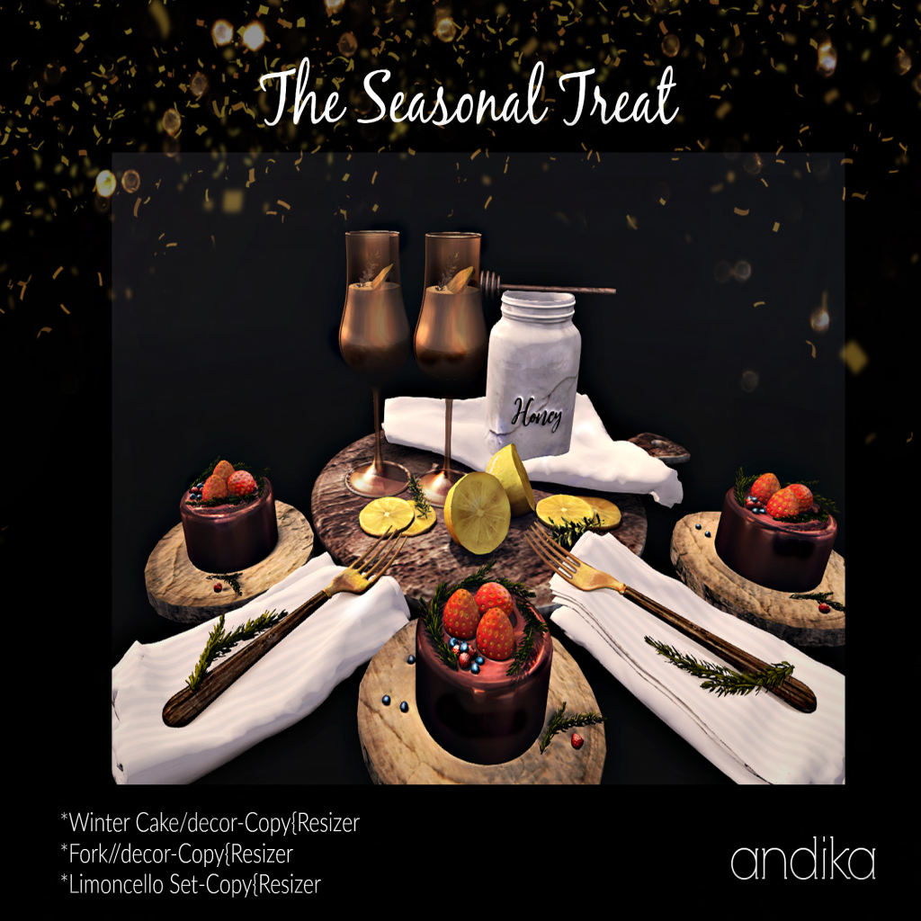 andika [[the seasonal treat]]Set