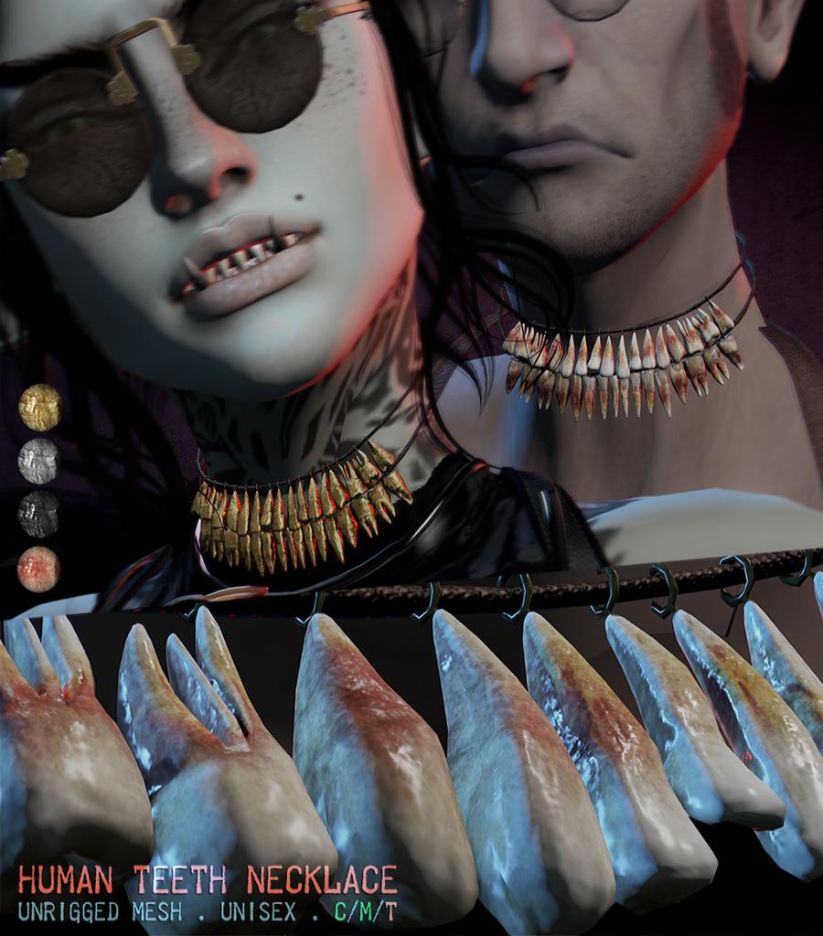 hotdog - human teeth necklace ad.png