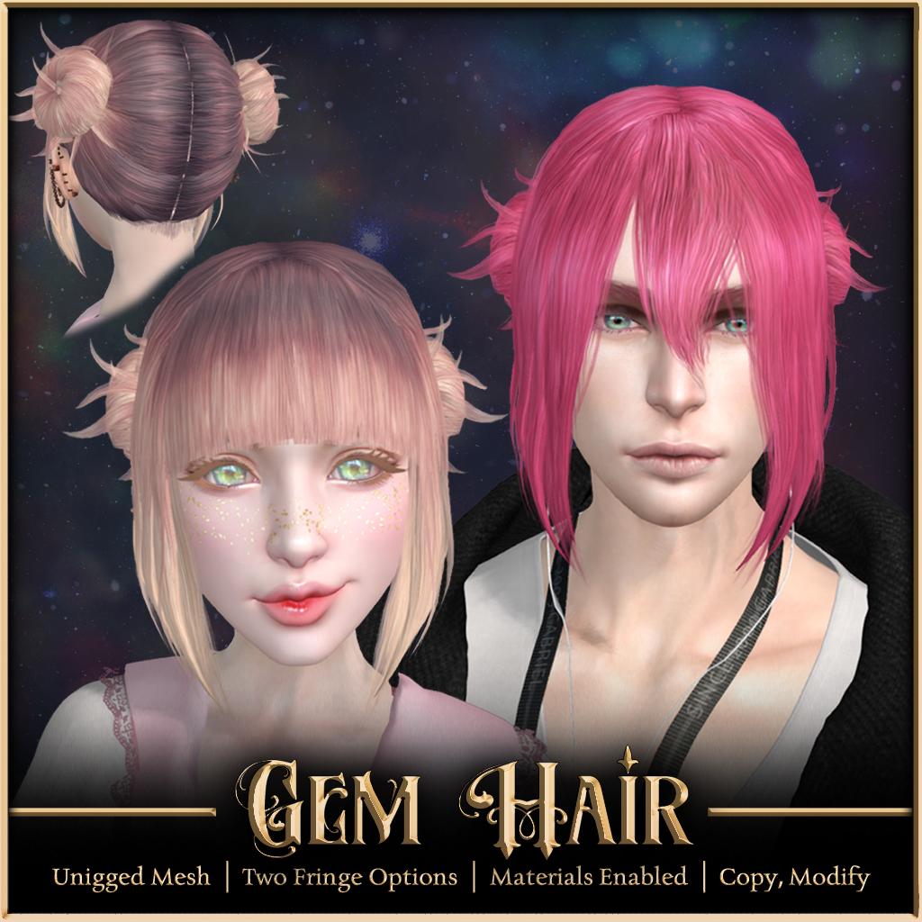 Raven Bell - Gem Hair Ad.png