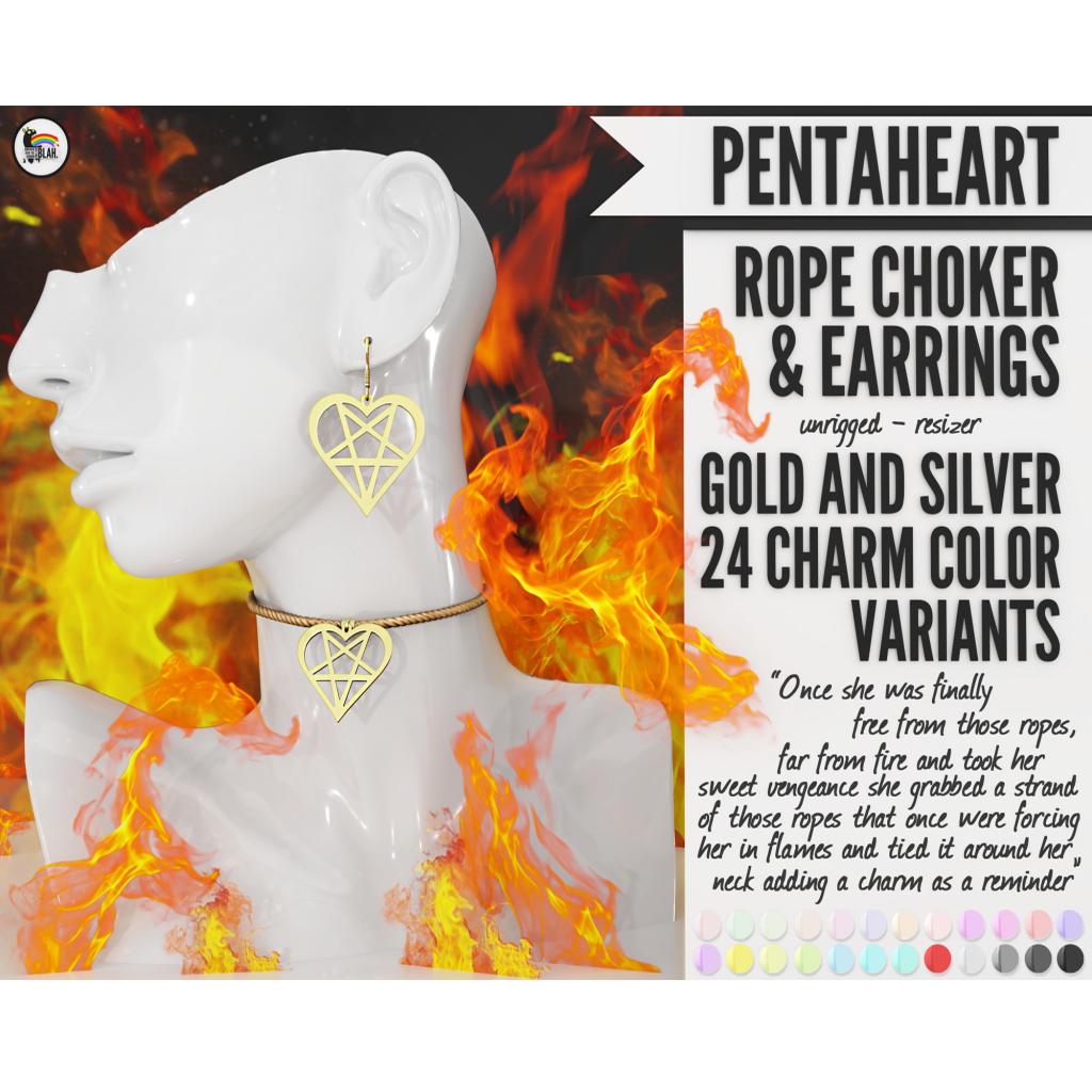 Blah. PentaHeart Rope Choker and Earrings.png