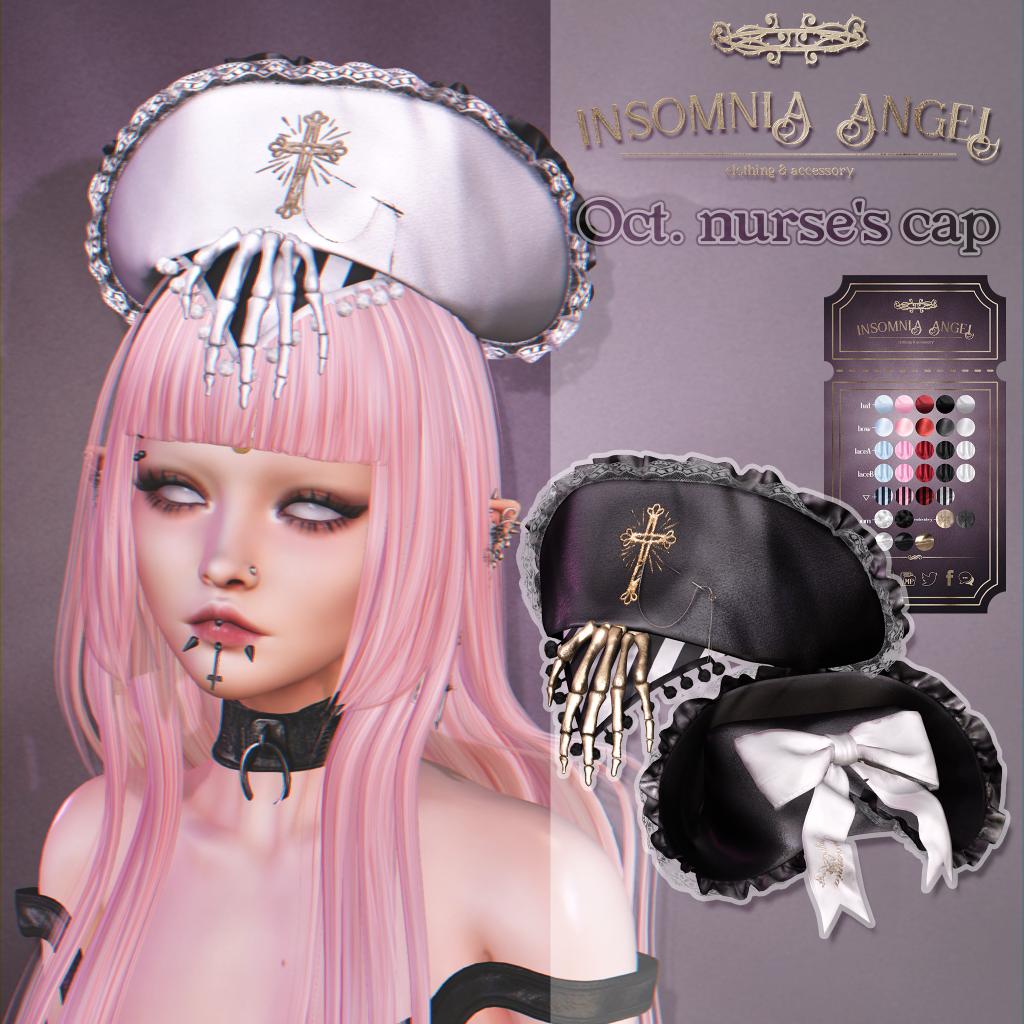 Insomnia Angel . Oct. nurse's cap AD.png