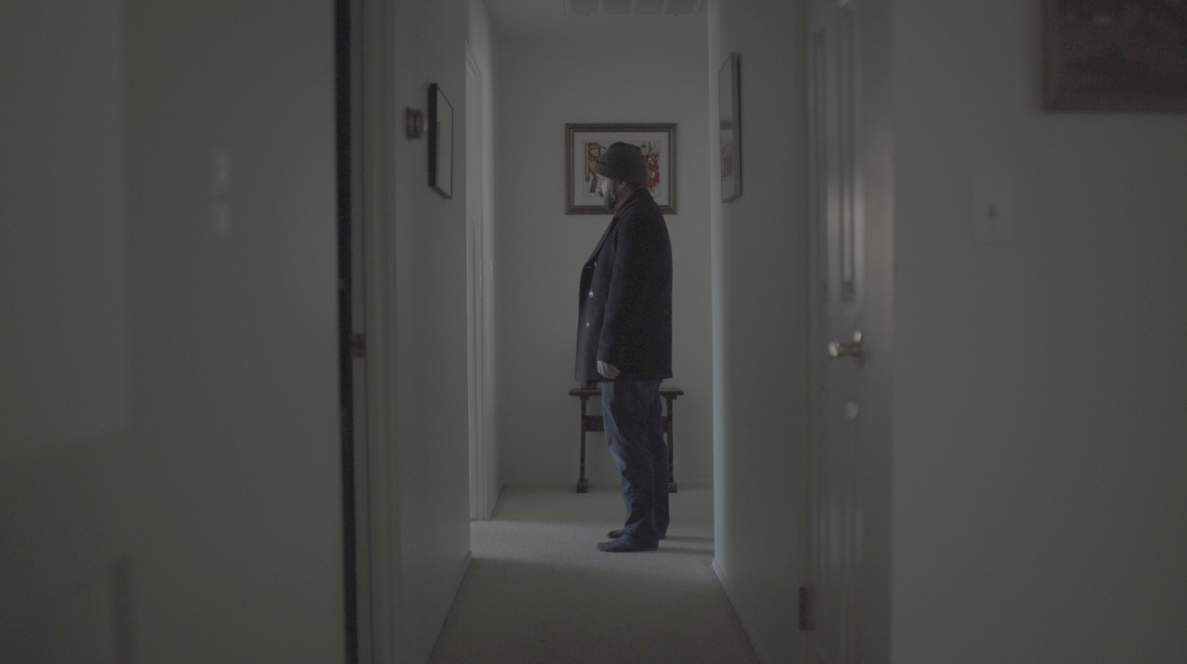 Unedited still from dailies for  You Can Call Me Dad
