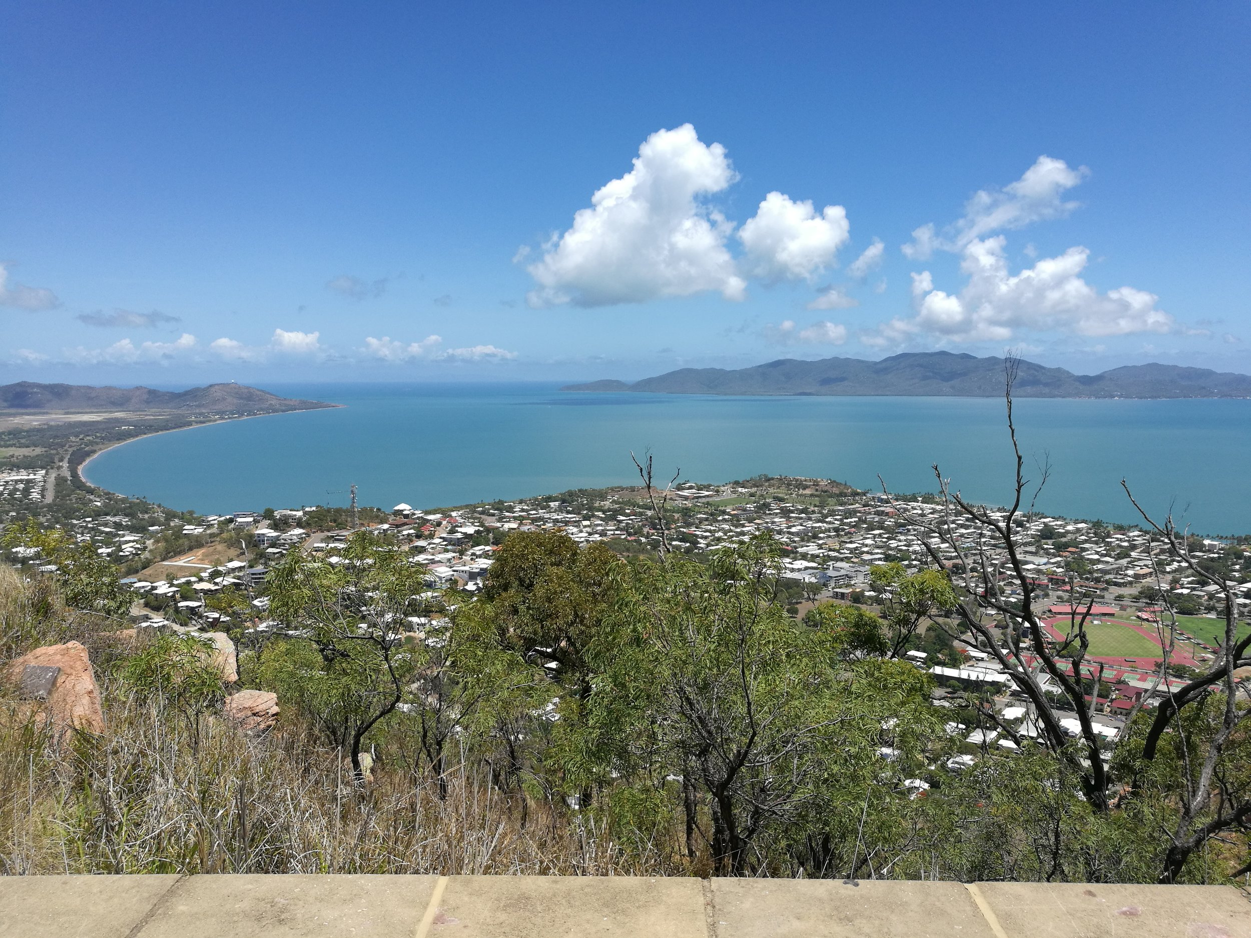 Magnetic Island from Castle Hill