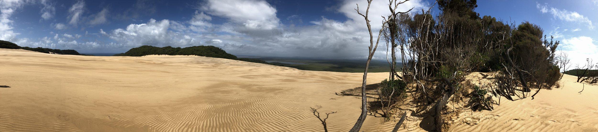 Cooloola sand mass