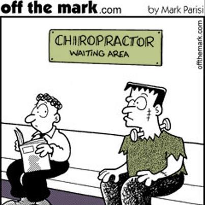 A little chiro humor because you know I can't resist!