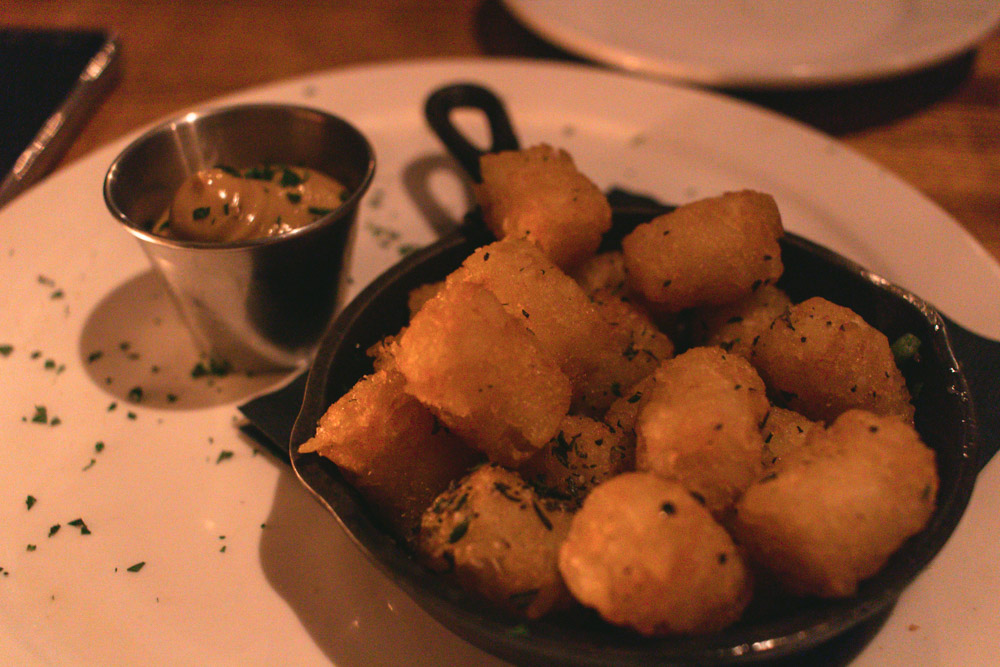 Truffle tater-tots were SO bomb...