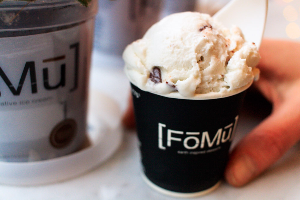 FOMU - organic & local ingredients, this place is all natural
