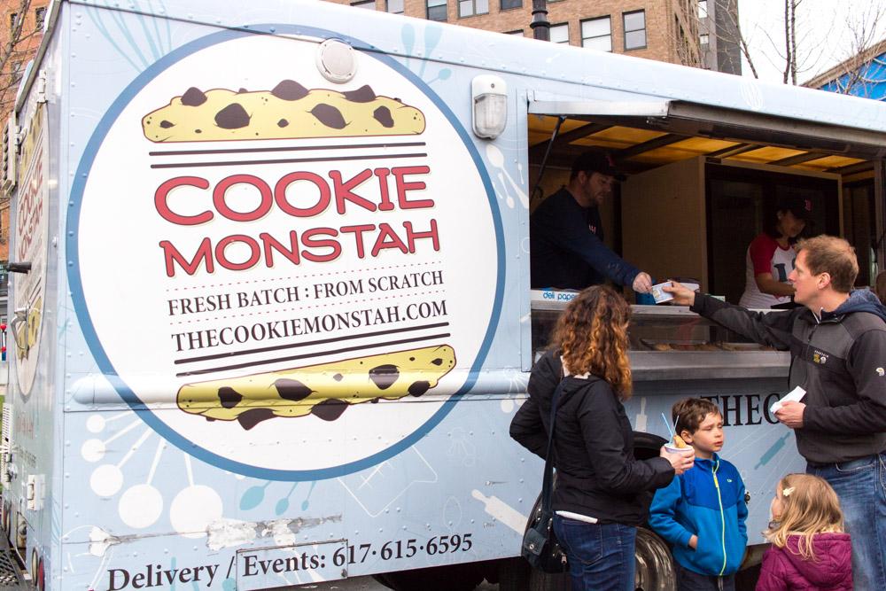 Cookie Monstah - serving fresh cookies and ice cream