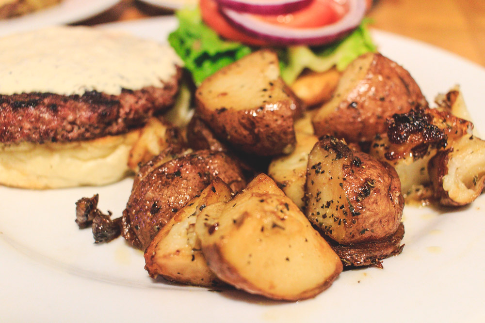 Life is better with crispy country potatoes!