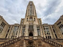 Pitt's Cathedral of Learning. A building--I work here.