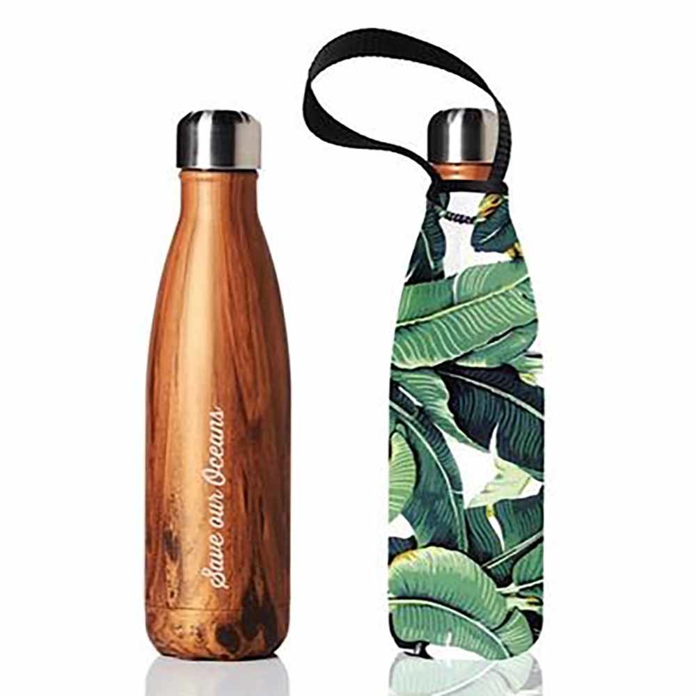 REUSABLE DRINK BOTTLES - These stainless steel bottles are a great alternative to single use plastic bottles, with health benefits for both you and the planet!