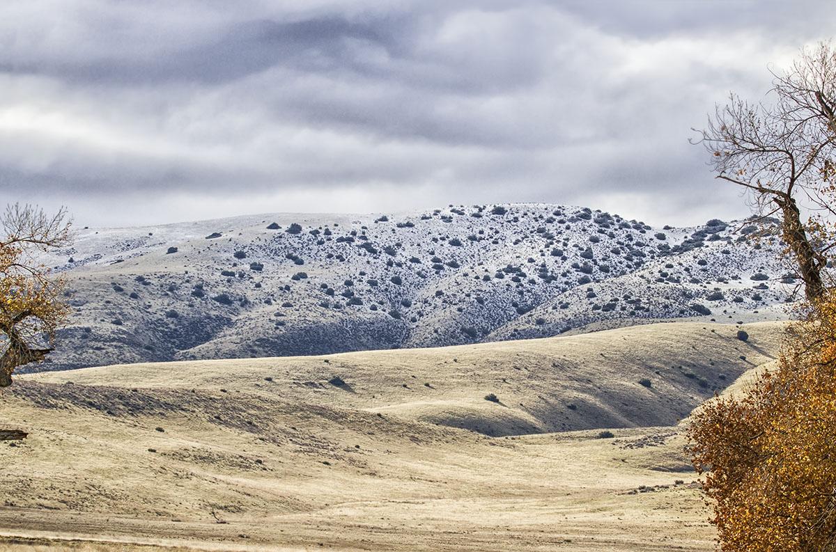 Snow on the Temblors. © Bill Bouton