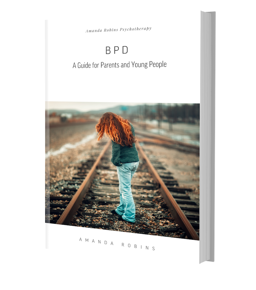 For my practical guide to BPD for parents and young people please fill out the form below. -