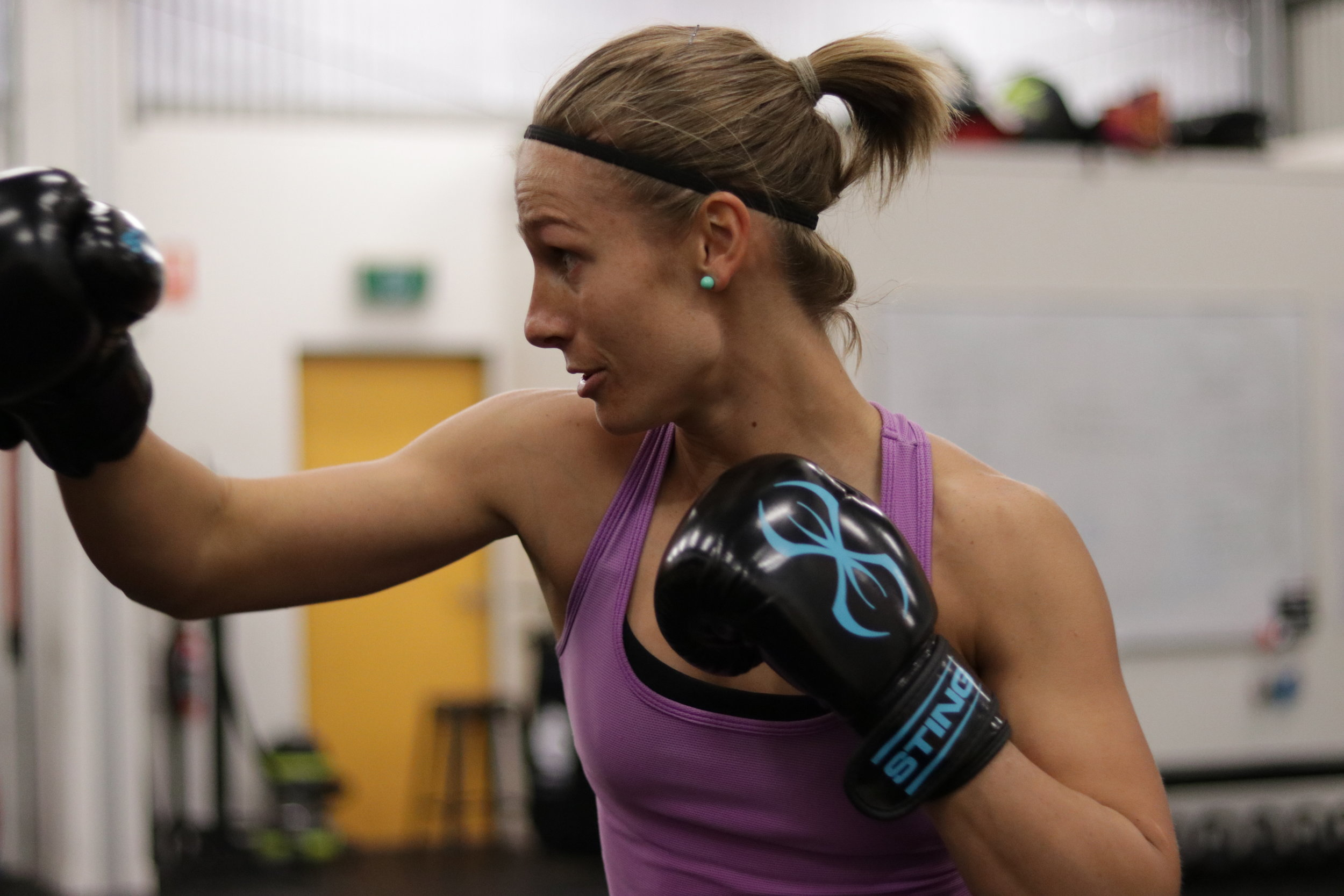 IBT - Integrated Boxing Training - Sometimes you just want to punch the S#@T out of someone or something.