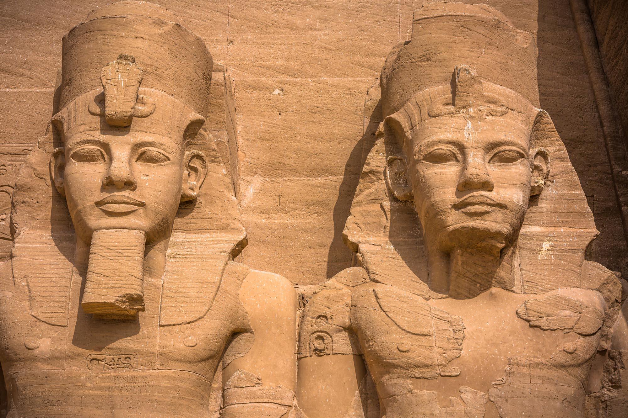 Abu Simbel Close Up
