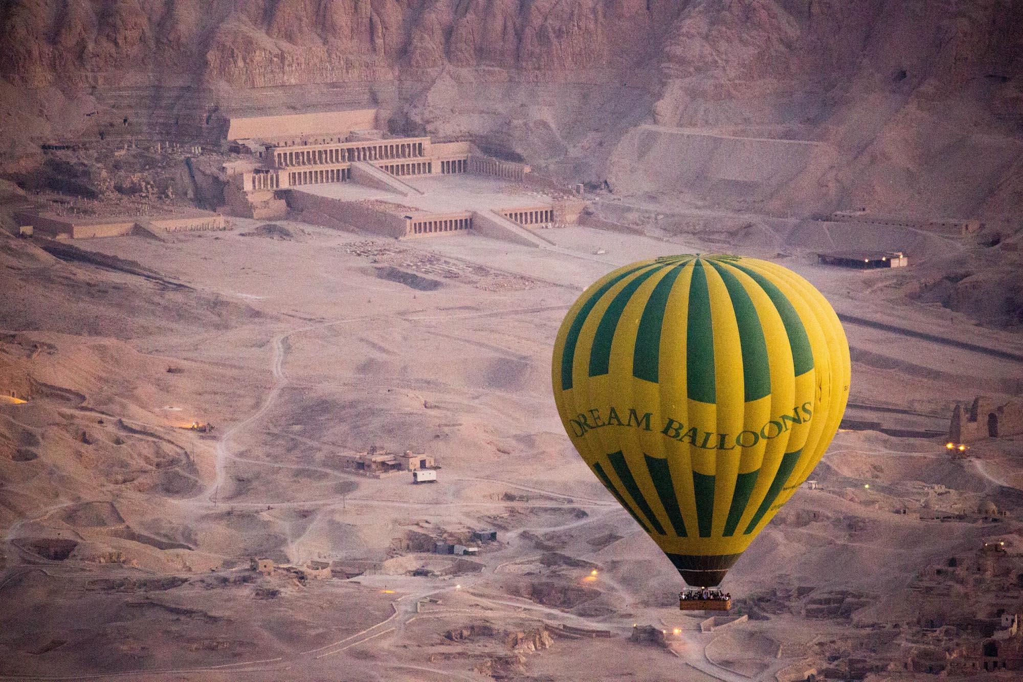 Hot Air Ballooning Luxor Egypt