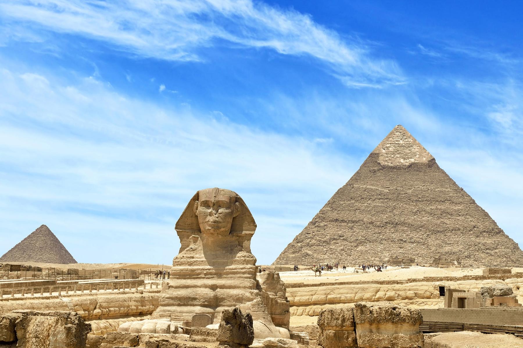 Pyramids & Red Seafrom 470 USD - 8 DaysCairo – Dahab