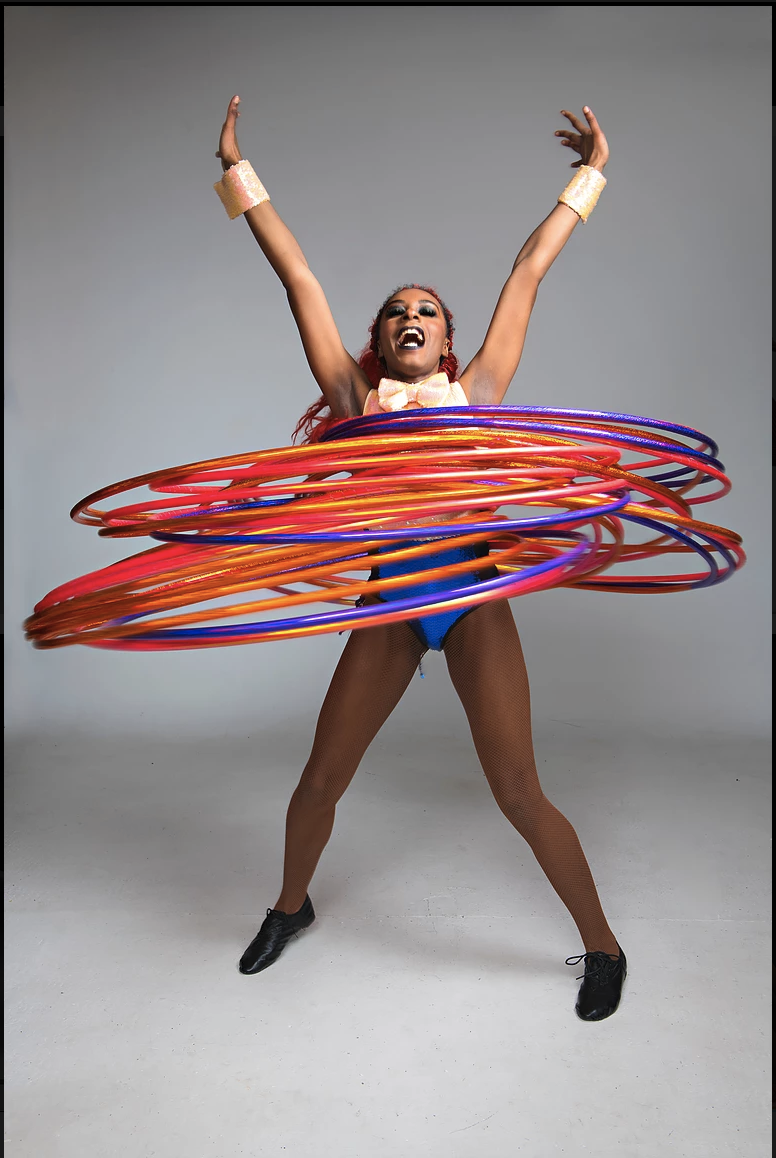 Monday 14th October 6-7pm   Hula Hooping  with Symoné  Venue: Tramway, Glasgow   BOOK    HERE
