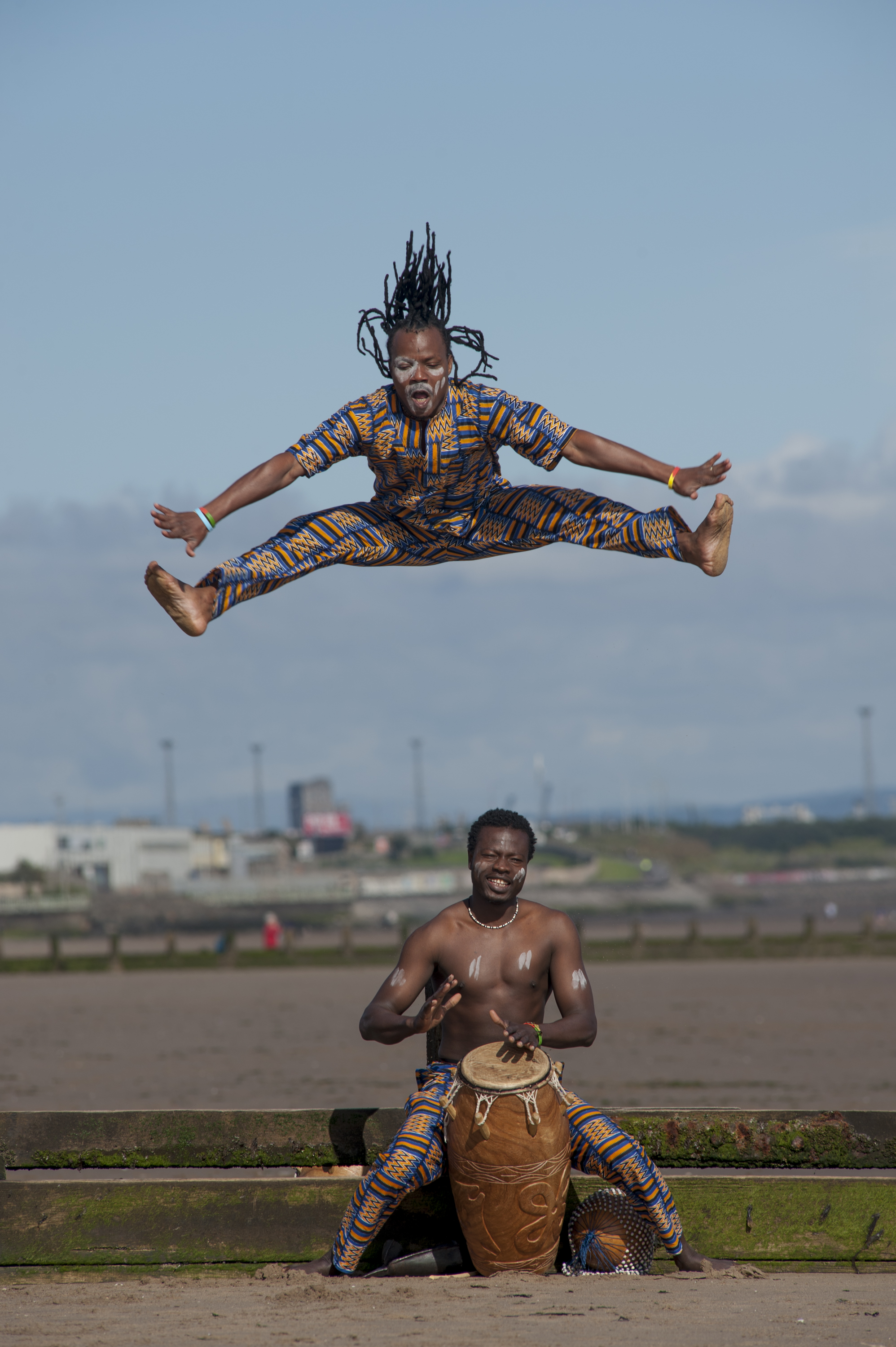 Monday 7th October 6-7pm   West African Dance  with Akrowa UK  Venue: Tramway, Glasgow   BOOK    HERE