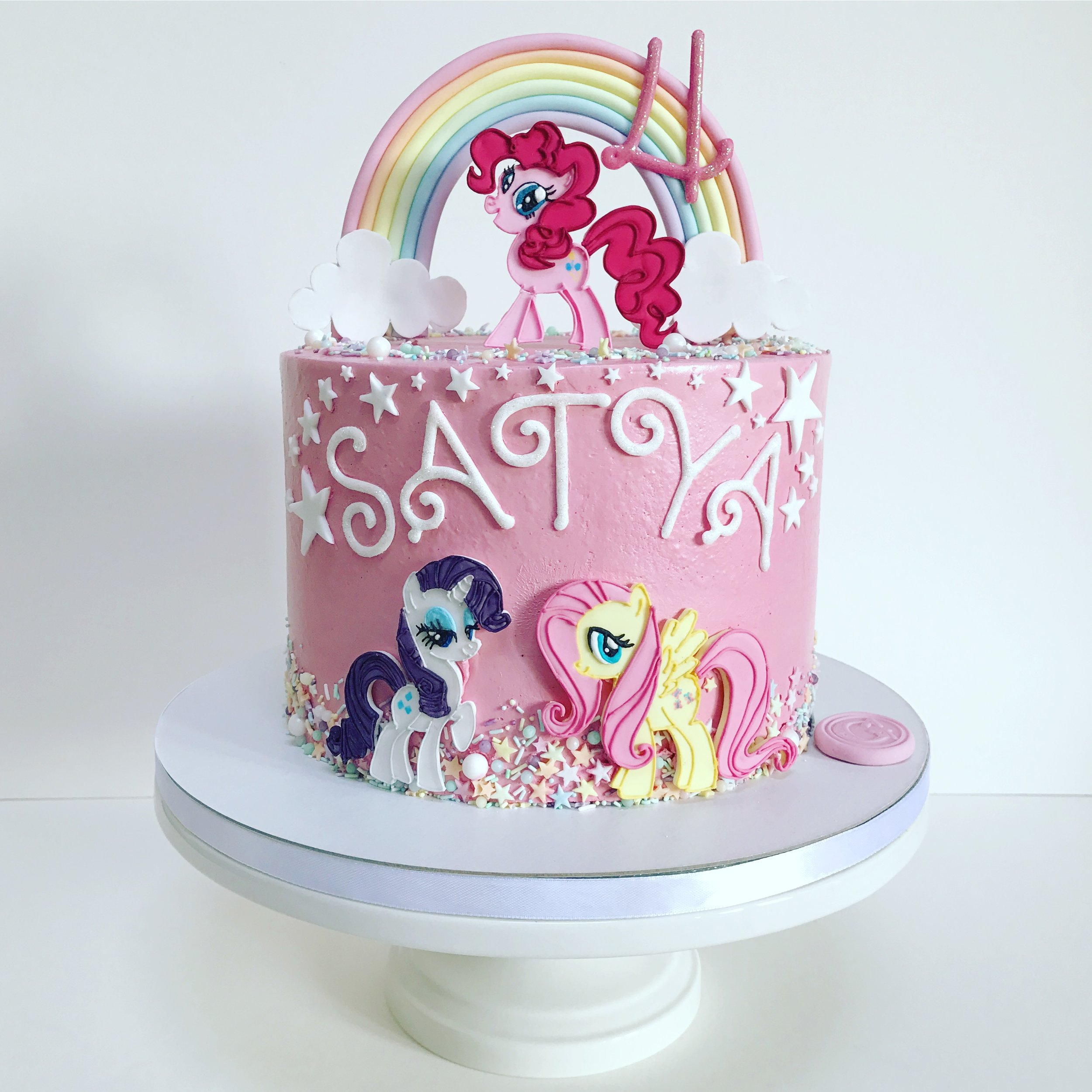 My Little Pony 4th Birthday Cake.JPG