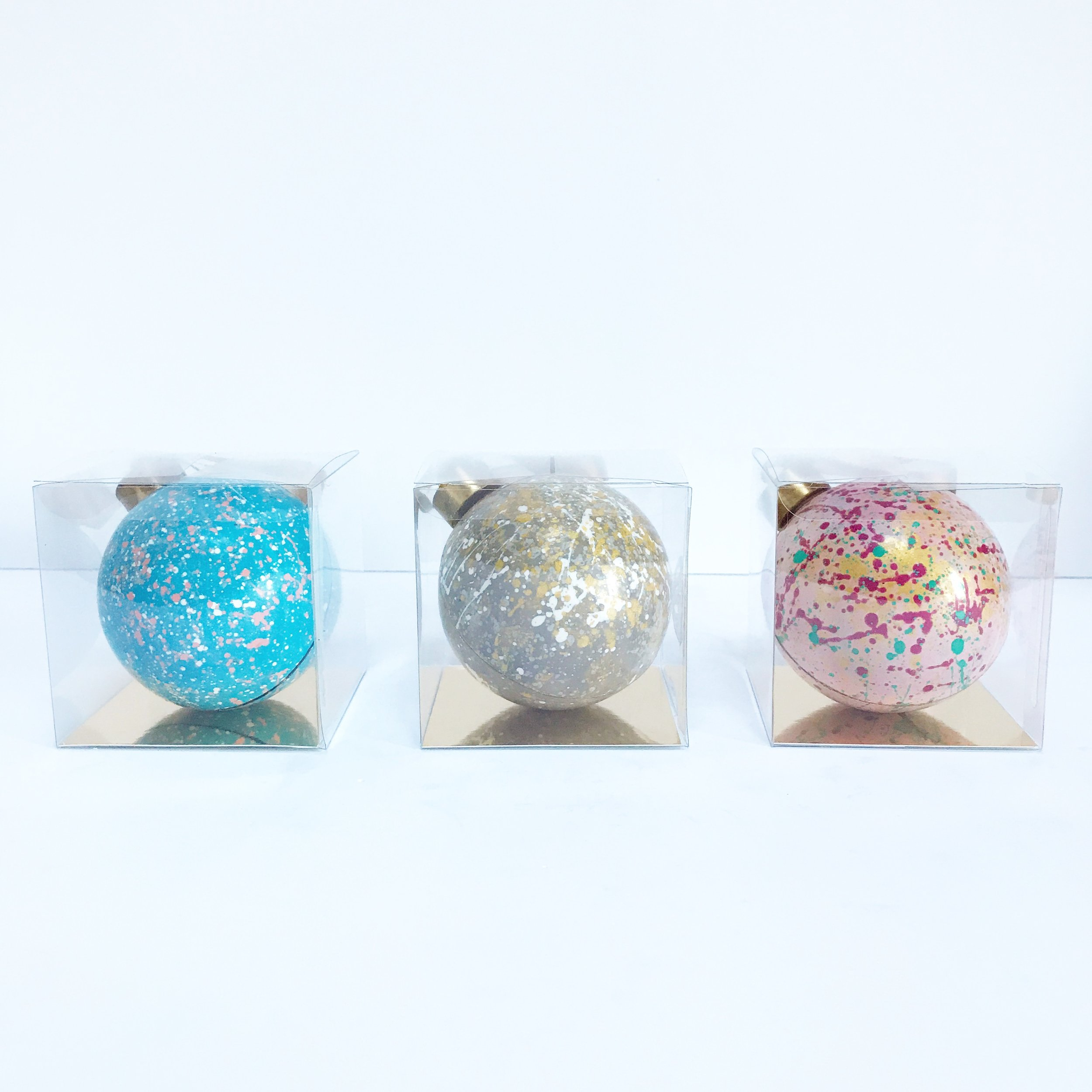 Individual boxed chocolate baubles.JPG