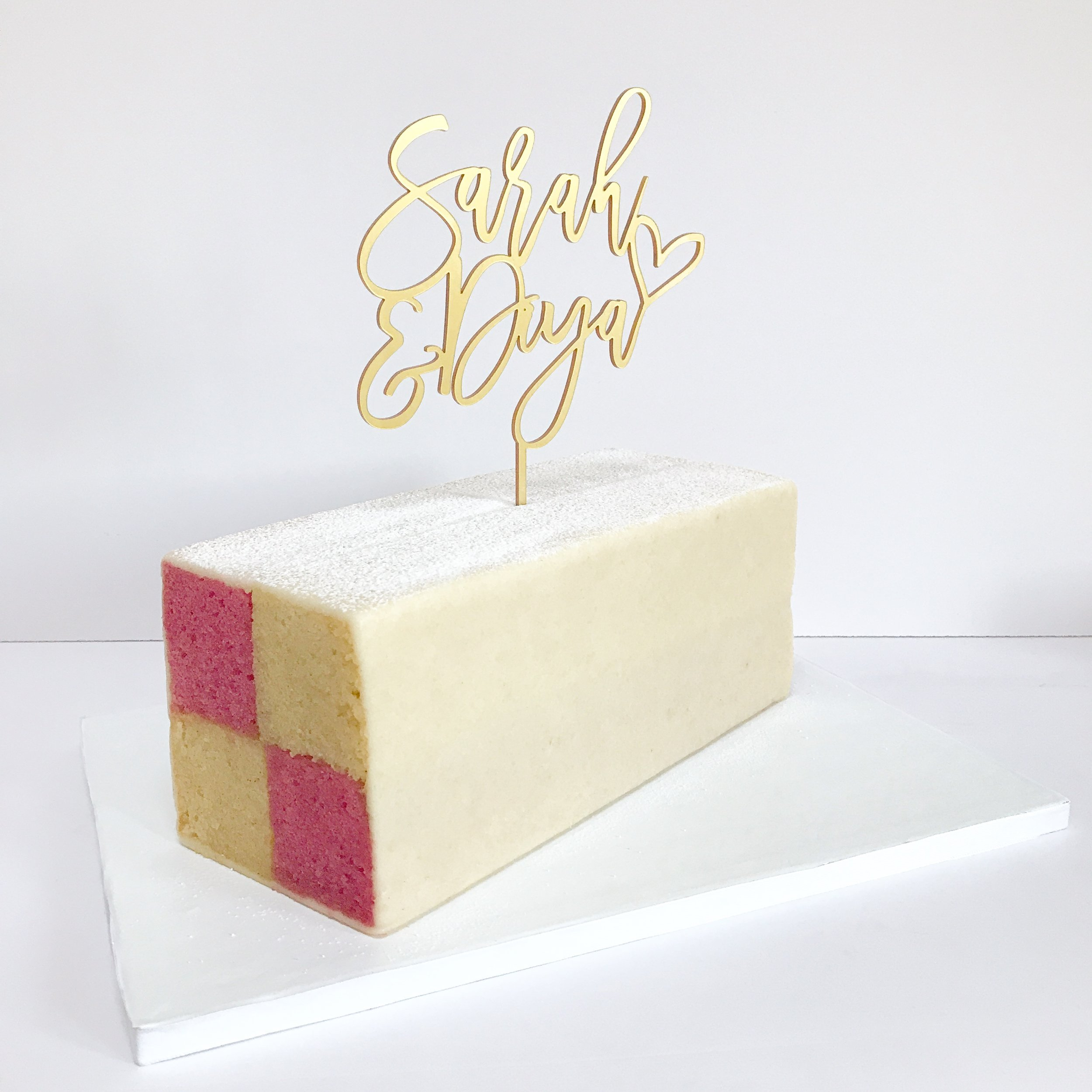 Battenberg Wedding Cake.JPG