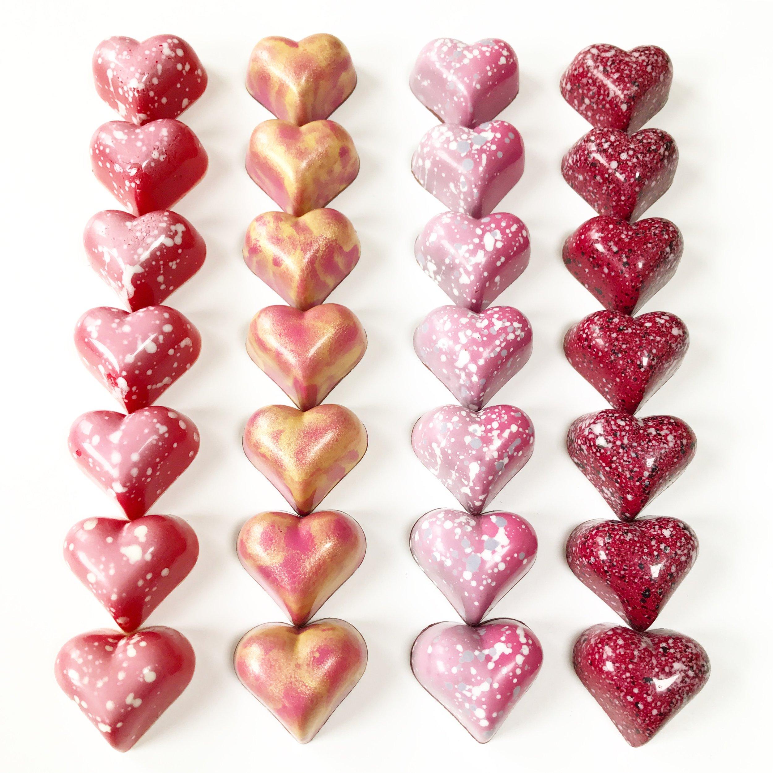 Valentine's Heart Shaped Chocolate Bonbon Collection.JPG