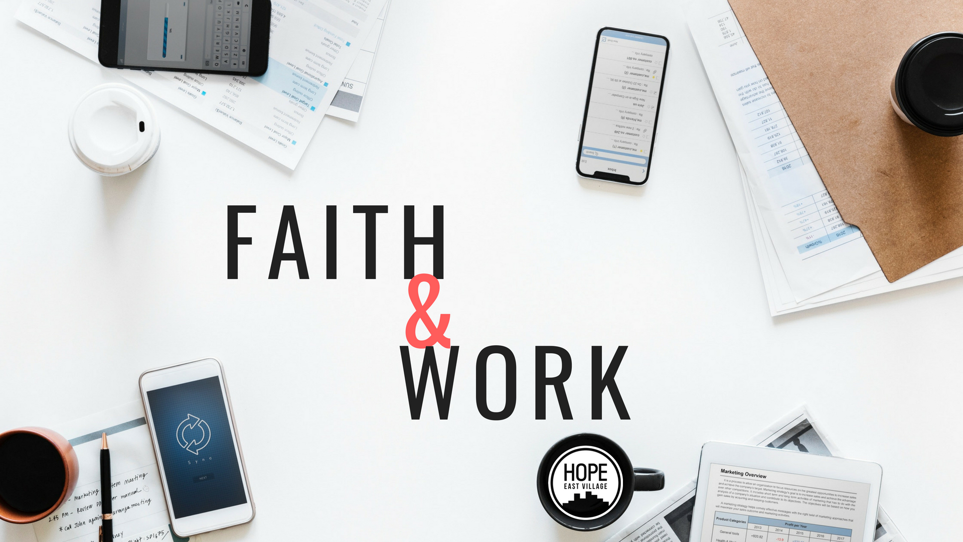 FAITH & WORK - Have you had questions about how your faith and the work you do can be integrated? Do you ever wonder if the work you do is important at all to the Kingdom of God? Listen to Alex Lee, Squarespace Software Engineer, talk about how the redemptive work of Christ extends to all areas of life, including the redemption of our work.