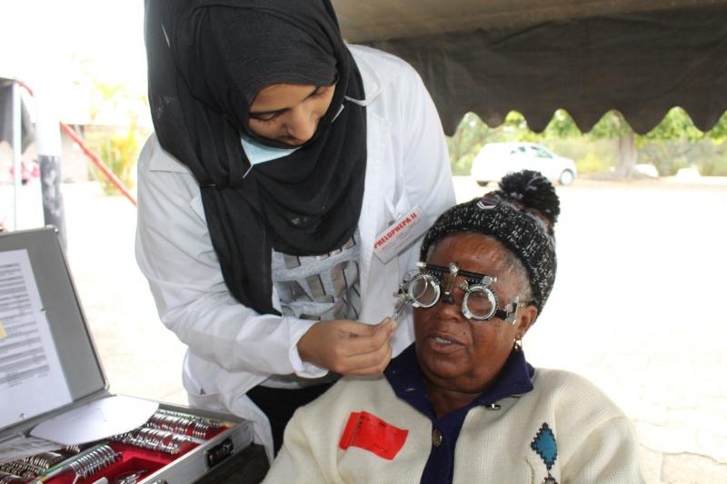 Tại bệnh viện Phelophepa One, người dân nghèo được chăm sóc sức khỏe gần như miễn phí.